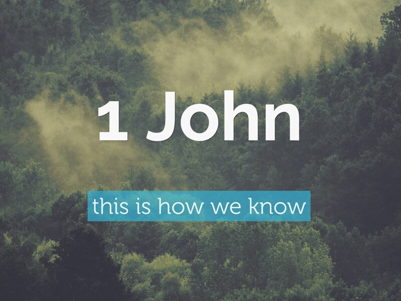 1 John 1:5-2:2 Reflection
