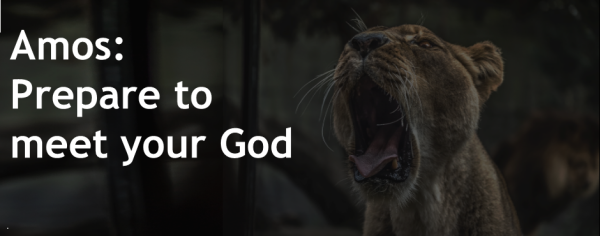 Amos: Prepare to Meet your God