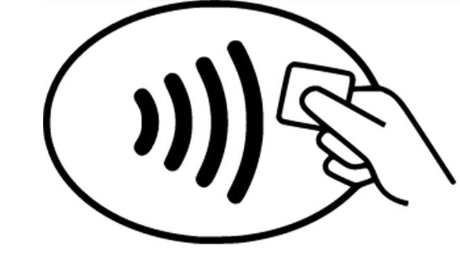 We've gone contactless